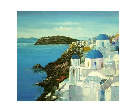 Obraz - Pobřeží na útesu
