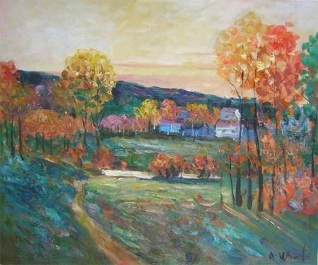 Obraz - Podzimní venkov