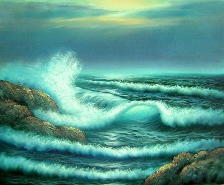 Obraz - Příliv moře 3