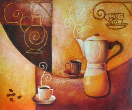 Obraz - Příprava kávy