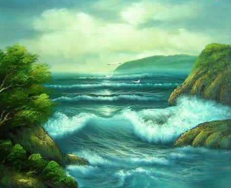 Obraz - Průliv moře