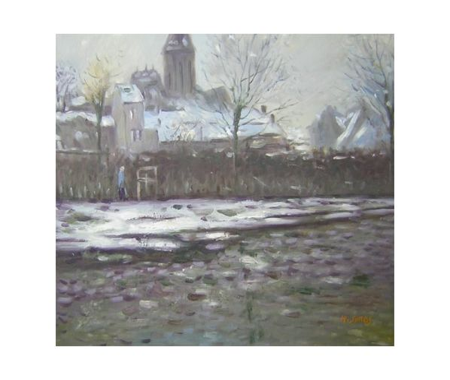 Obraz - První sníh