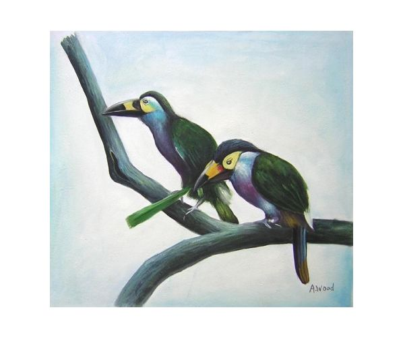 Obraz - Ptačí pár