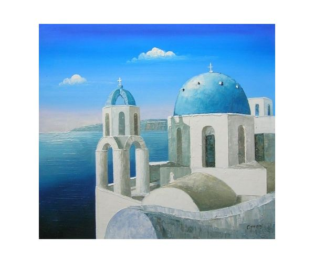 Obraz - Řecký kostel I.