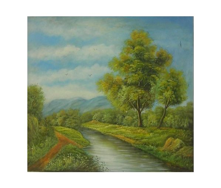 Obraz - Řeka v přírodě II.