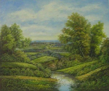 Obraz - Řeka v přírodě III.