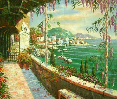 Obraz - Romantické město