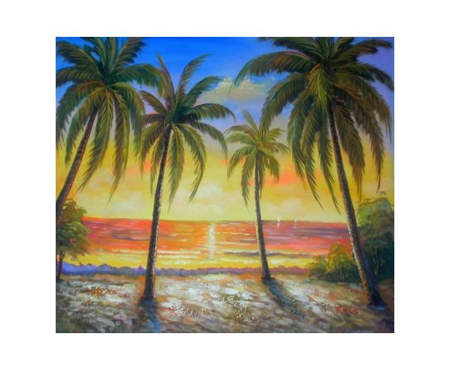 Obraz - Romantický západ slunce