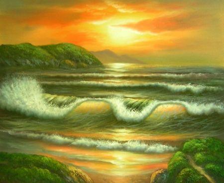 Obraz - Rozbouřené moře