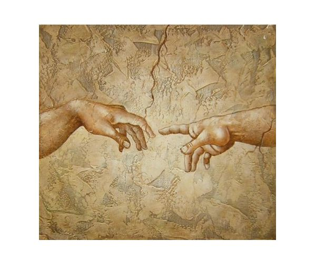 Obraz - Ruce (Stvoření Adama)