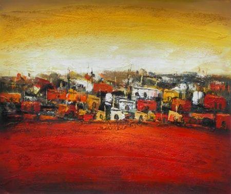 Obraz - Rudá vesnice