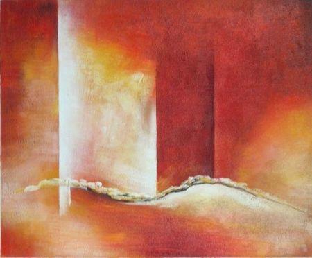 Obraz - Rudé nebe