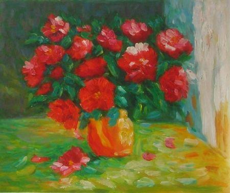 Obraz - Rudé růže