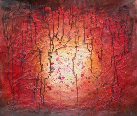 Obraz - Rudý déšť