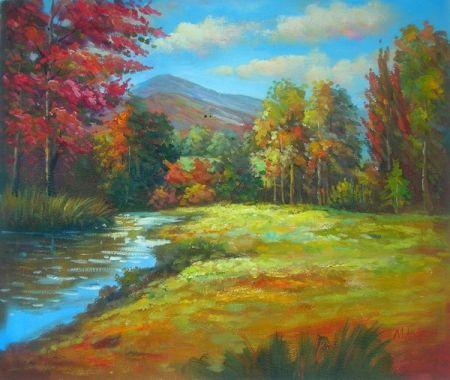 Obraz - Slunečný podzimní den