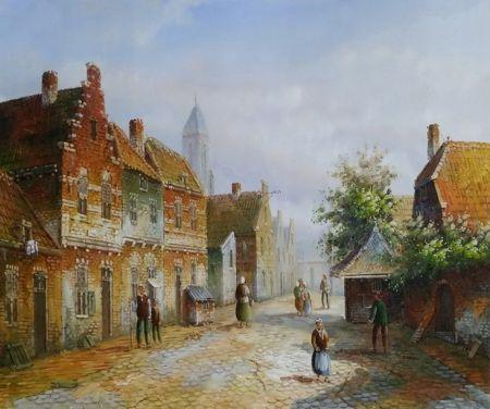 Obraz - Stará Anglie