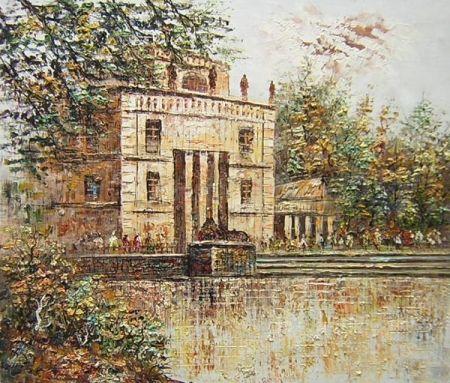 Obraz - Stará vila