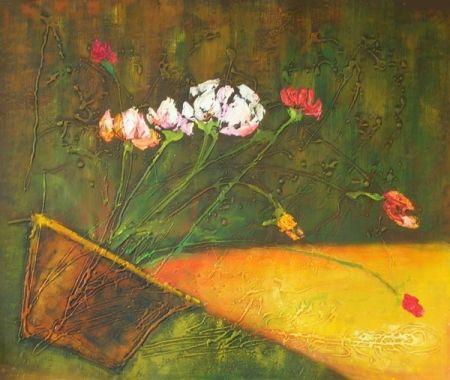 Obraz - Svítící váza