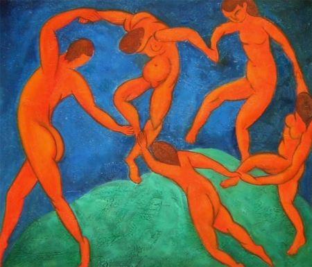 Obraz - Tančící nazí lidé