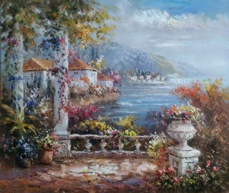 Obraz - Terasa u moře