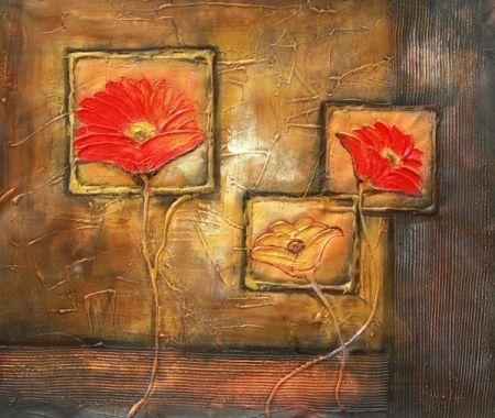 Obraz - Tři květy