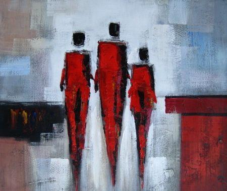 Obraz - Tři lidé