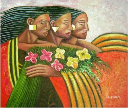 Obraz - Tři sestry