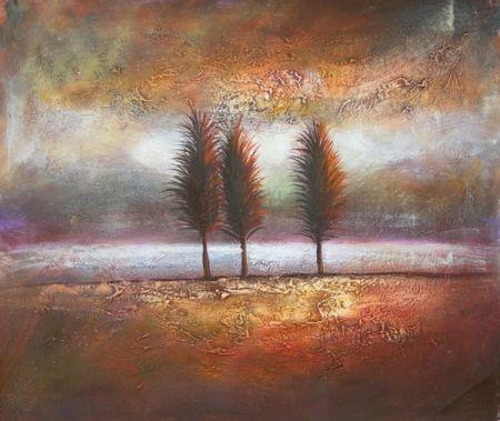 Obraz - Tři stromy