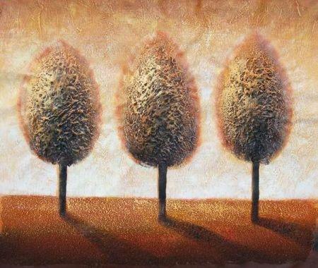 Obraz - Tři zlaté topoly