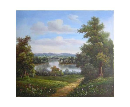 Obraz - U jezera