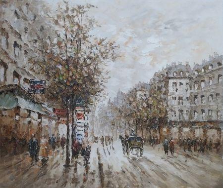 Obraz - Ulice 19. století