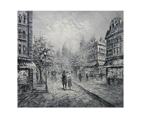 Obraz - Ulice v černobílém