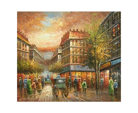 Obraz - Ulice v Paříži