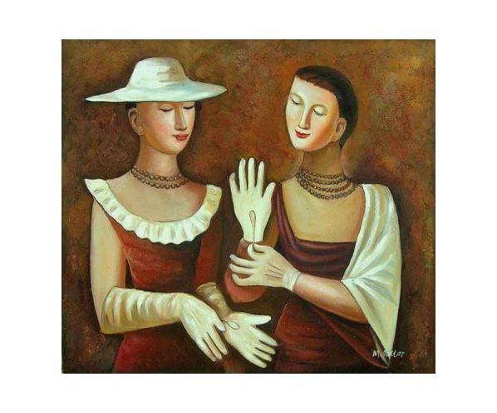 Obraz - Urozené dámy
