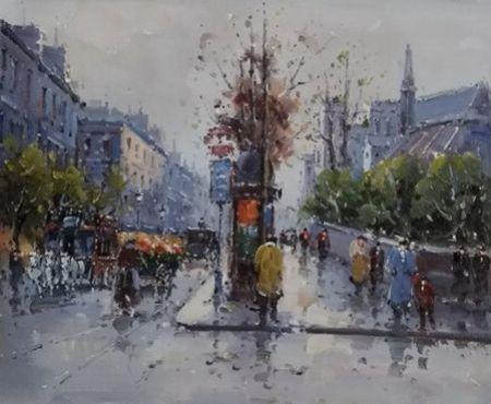 Obraz - V dešti