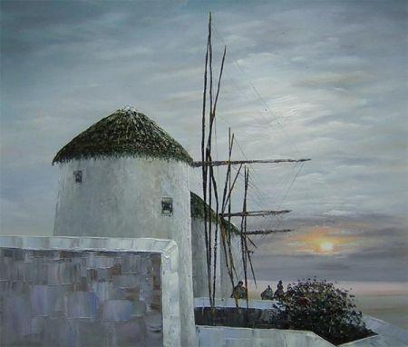 Obraz - Větrné mlýny