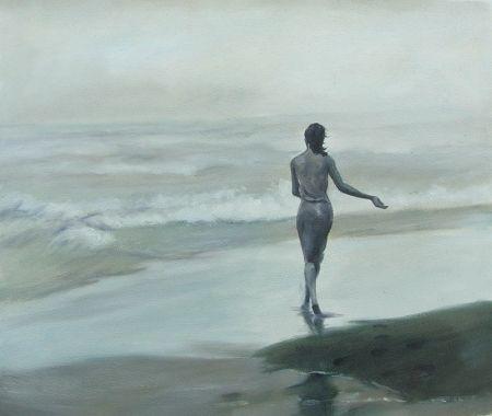 Obraz - Vracející se dívka