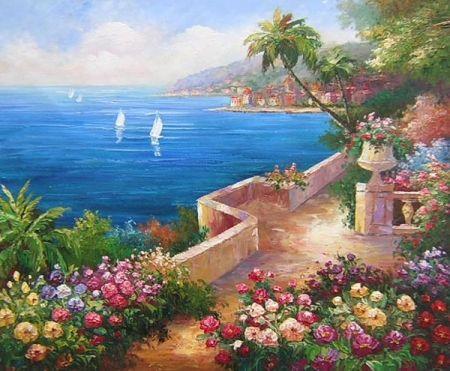 Obraz - Výhled na moře