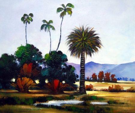 Obraz - Vysoké stromy