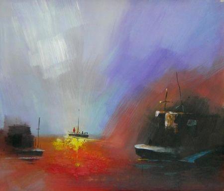 Obraz - Záře na moři