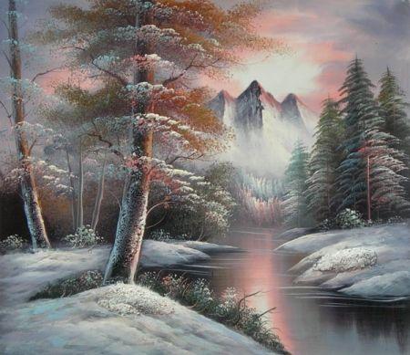 Obraz - Zasněžený Neverland