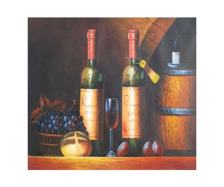 Obraz - Zátiší s vínem