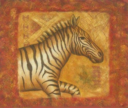 Obraz - Zebra v běhu