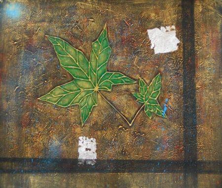 Obraz - Zelené listy