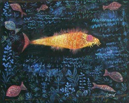 Obraz - Zlatá rybka