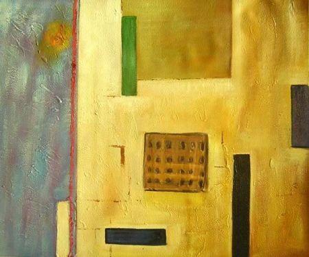 Obraz - Zlatá stěna