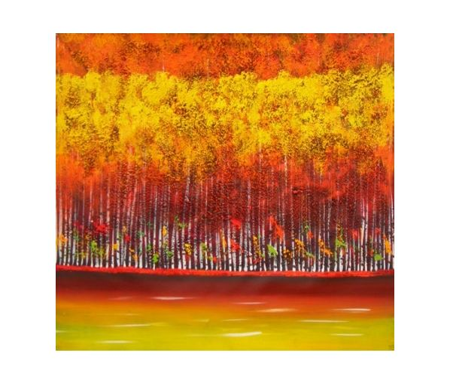 Obraz - Zlaté stromy