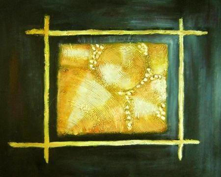 Obraz - Zlatý čtverec