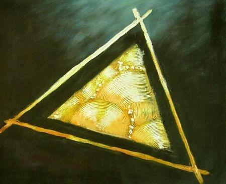 Obraz - Zlatý trojúhelník