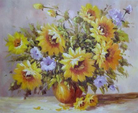 Obraz - Žluté květy